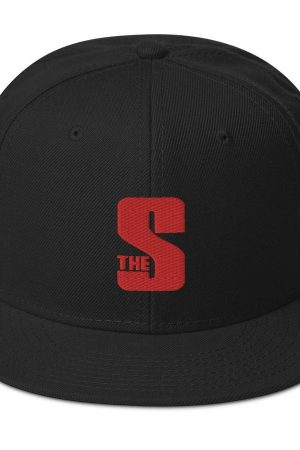 Source S Logo Snapback Cap