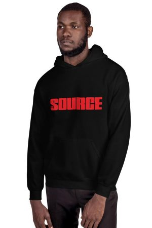 The Source Logo Hoodie (Unisex)