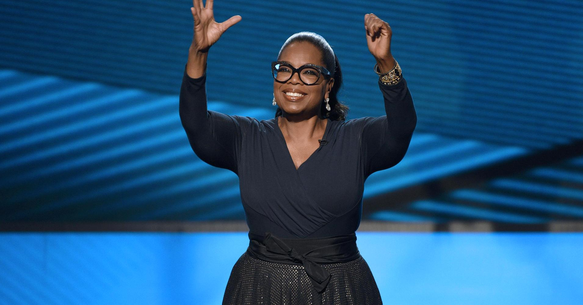 Oprah Went to the Bank for the First Time Since 1988 to Deposit $2 Million