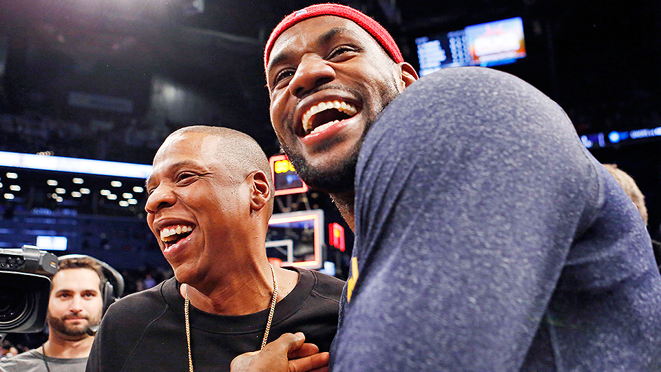 """JAY-Z to LeBron James: """"I'm the King of Cleveland Now"""""""