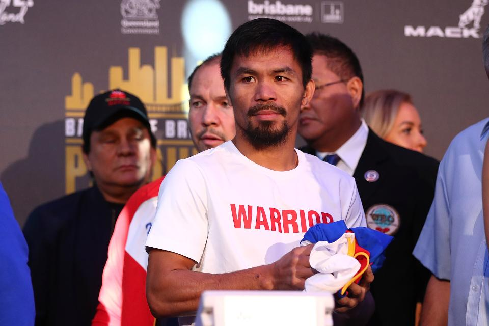 Manny Pacquiao Teases 2018 Fight With Conor McGregor