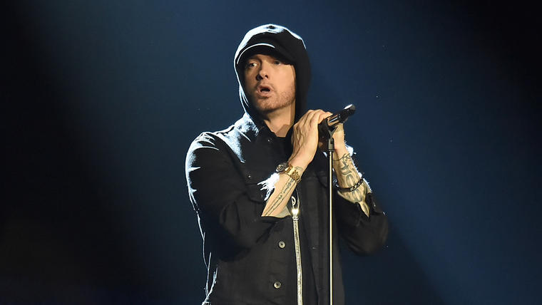 Eminem's 'Revival' Marks His Eighth Consecutive No. 1 Album