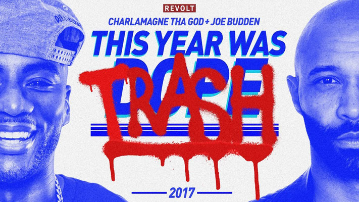 Joe Budden & Charlamagne Give Their Top 5 Everything for 2017