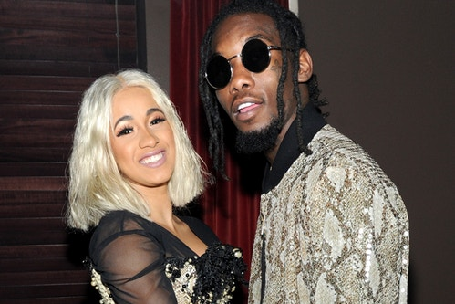 Cardi B Saves Offset From a Ticket Via Facetime