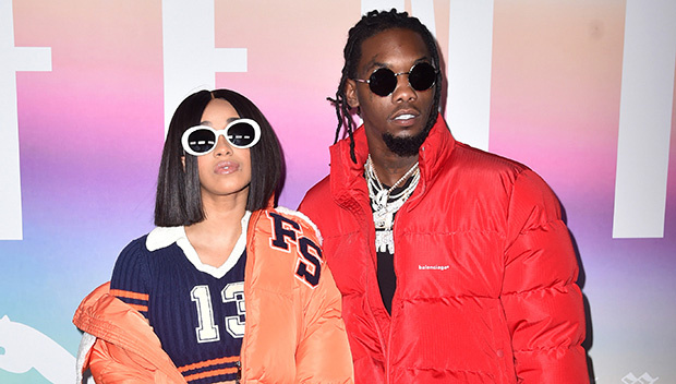 """Cardi B Details Offset's Car Crash: """"A Crackhead Was in the Middle of the Road"""""""