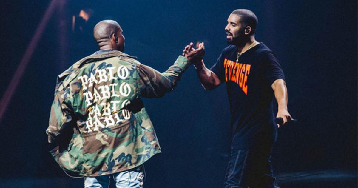 Drake Reportedly Uncredited for Writing Hook on Kanye West's 'Yikes'