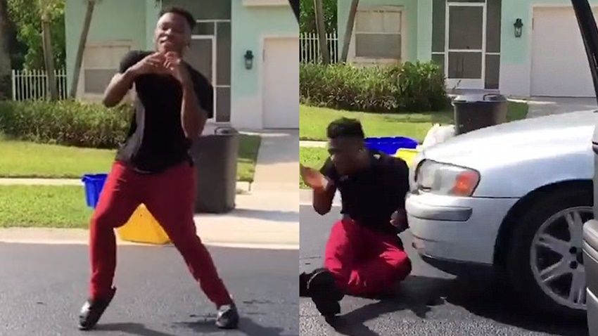 Police Threatens Criminal Charges if Caught Doing Viral #DoTheShiggy Dance