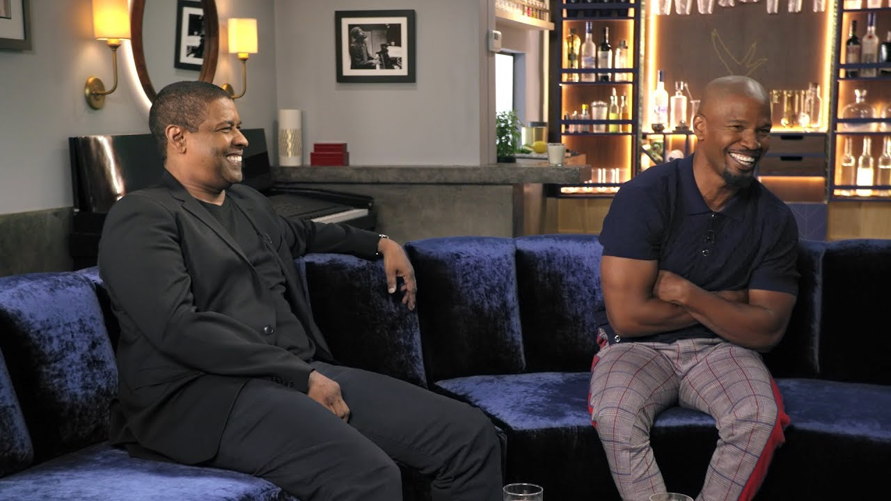 [Watch] Denzel Washington Goes 'Off Script' with Jamie Foxx Shares Moment at the Oscars