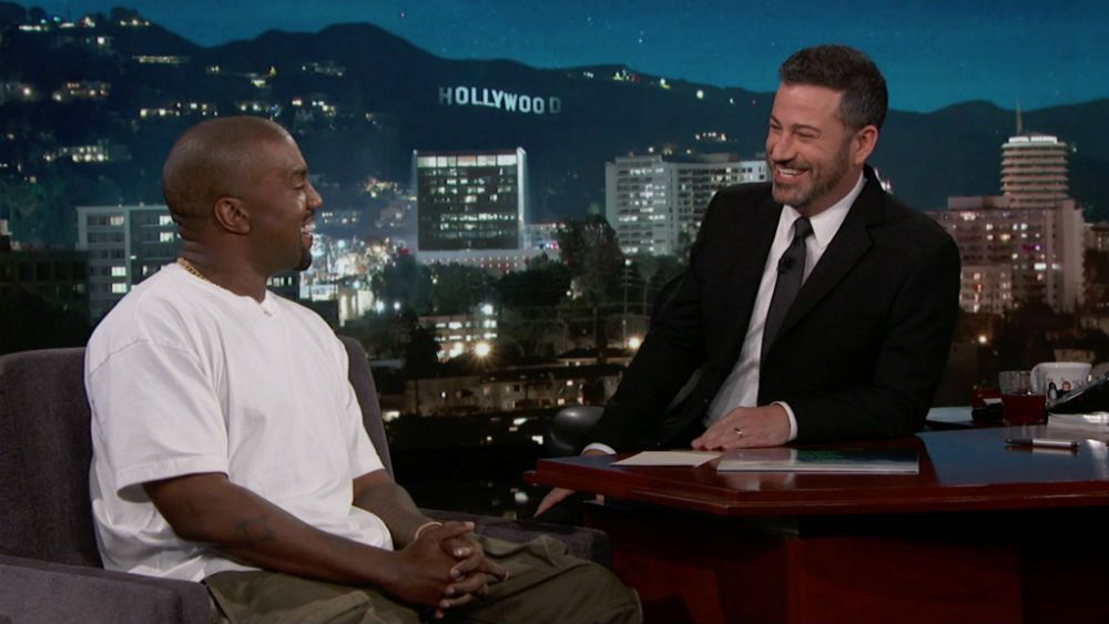 Jimmy Kimmel Leaves Kanye West Speechless When Asking Why Does he Think Trump Cares About Black People