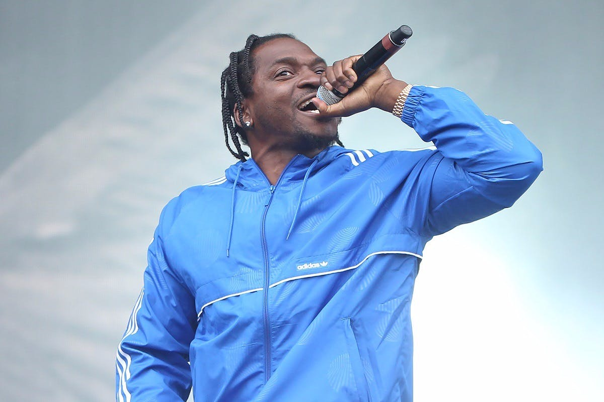 Pusha T Fans Chant 'F--k Drake' at Chicago Show