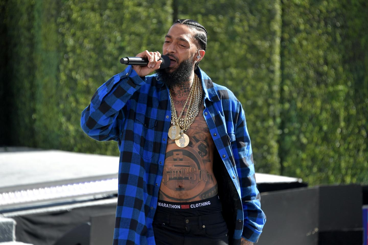 Shots Fired in Front of Nipsey Hussle's Clothing Store