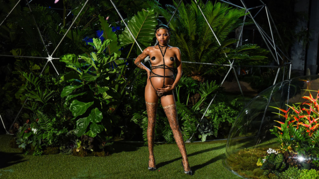 Slick Woods Revealed She Was in Labor as She Walked During SavagexFenty NYFW Show