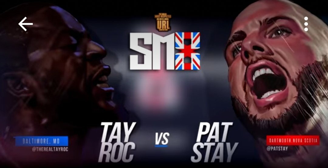Pat Stay to Battle Tay Roc on URL's Summer Madness 8 in London