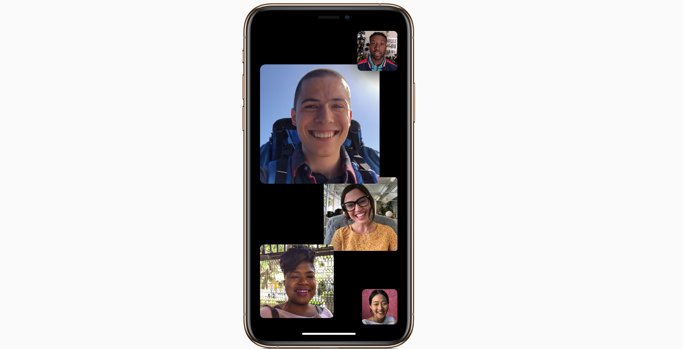 Apple's IOS 12.1 Update Introduces Group FaceTime