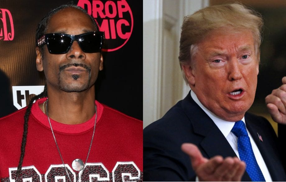 Snoop Dogg Drags Donald Trump for Government Shutdown