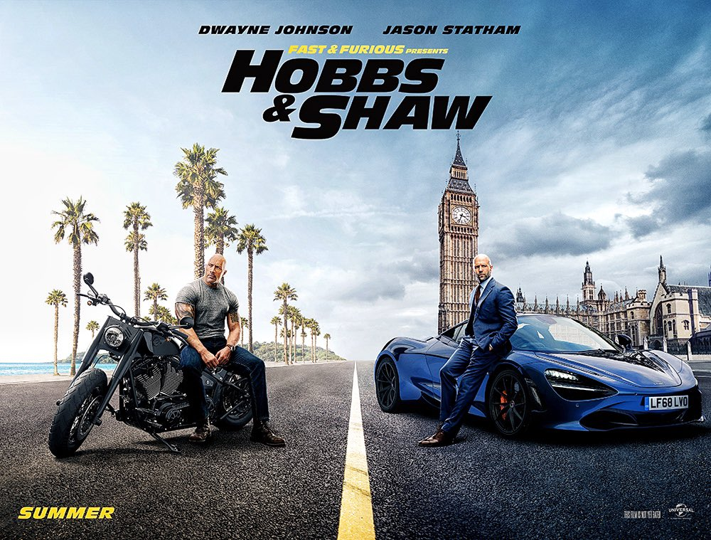 Dwayne 'The Rock' Johnson, Jason Statham and Idris Elba Star in 'Hobbs & Shawn' Trailer