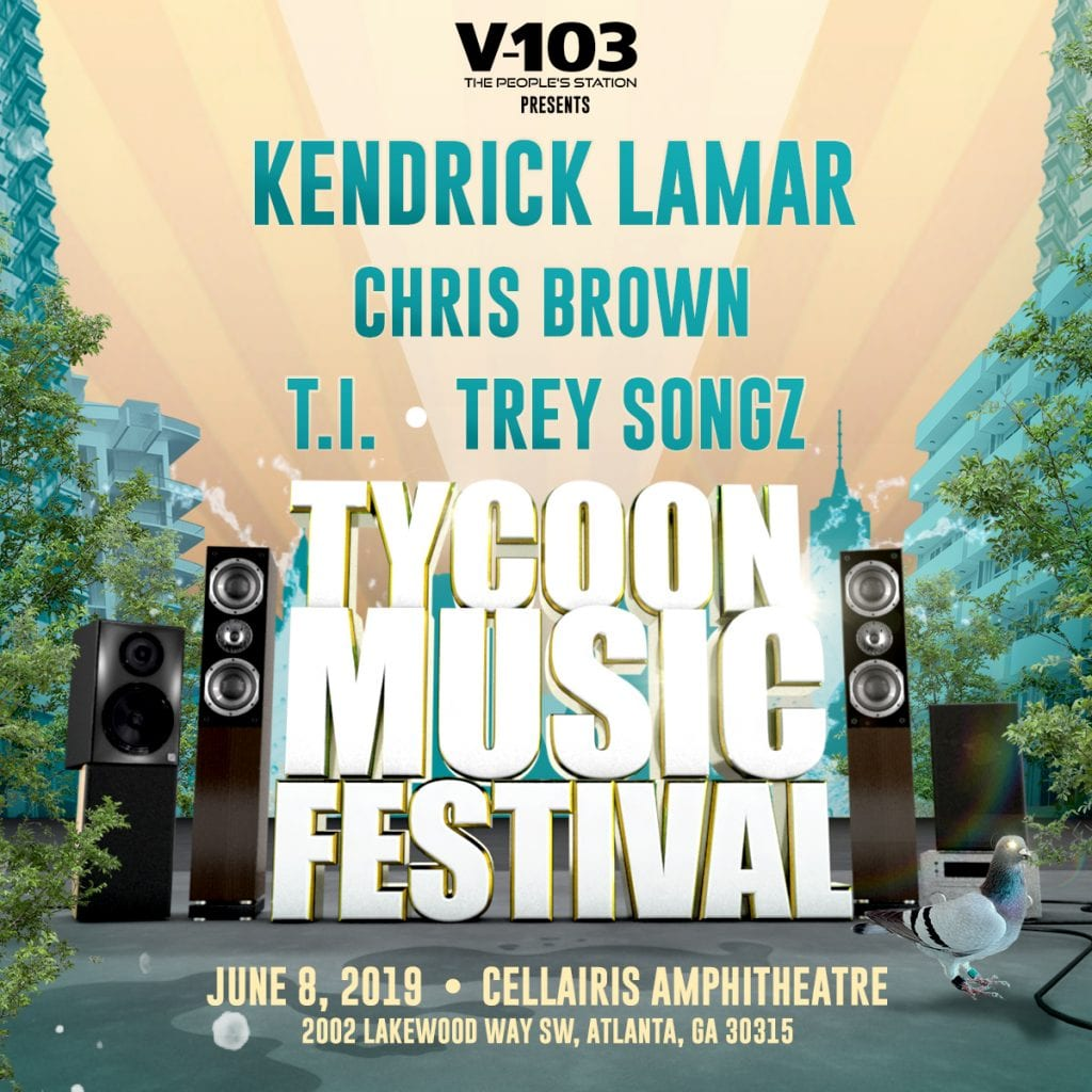 Kendrick Lamar, Chris Brown, T.I., and Trey Songz to Headline Tycoon Music Festival