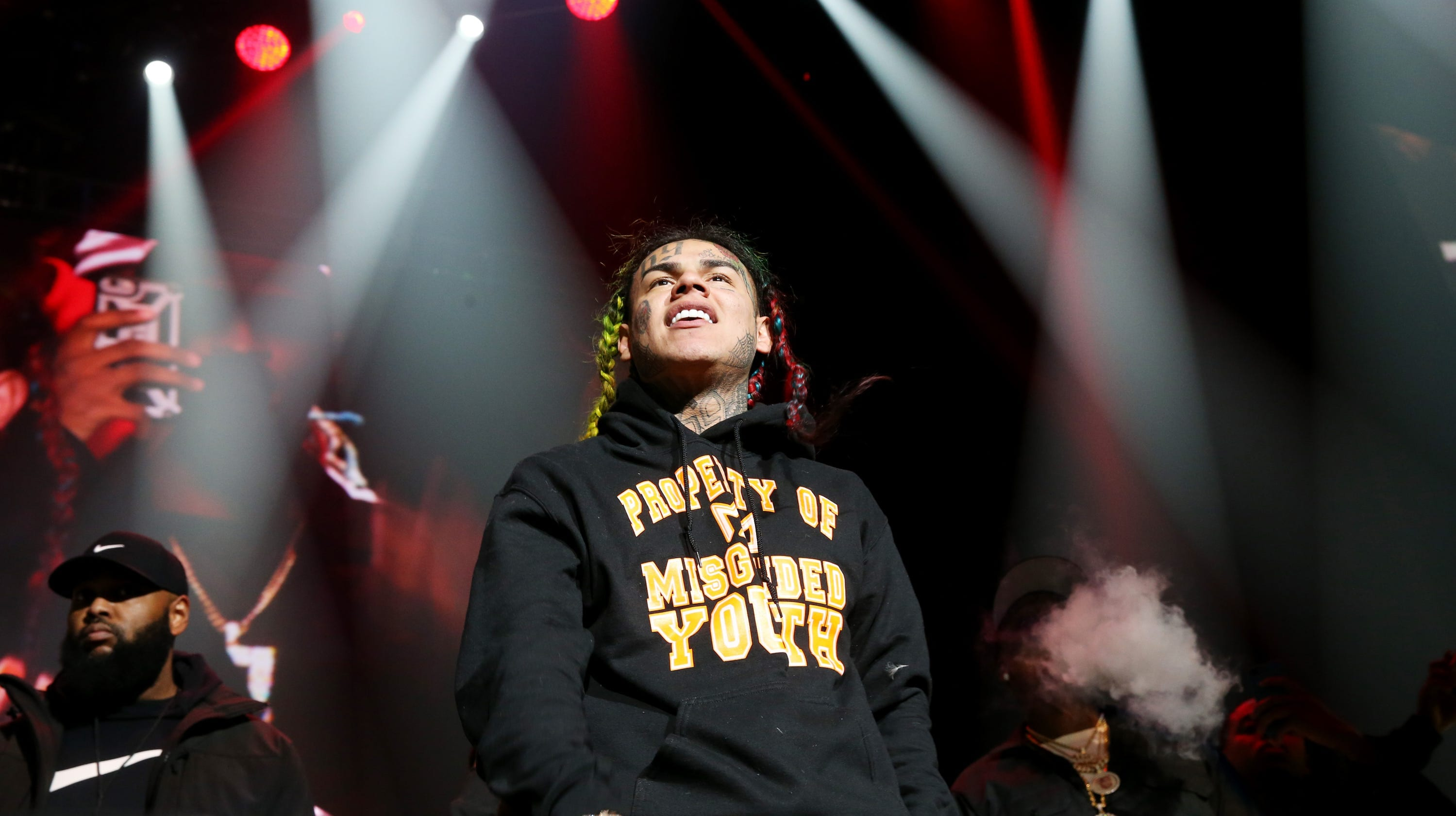 Tekashi 6ix9ine is Reportedly Working on a New Album Already