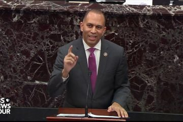 US Congressman Hakeem Jeffries Quotes Biggie During Trump's Impeachment Trial